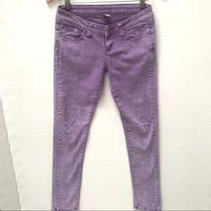 EUC Lavender Skinny Jeans by Wet Seal Size 5 (JRs)